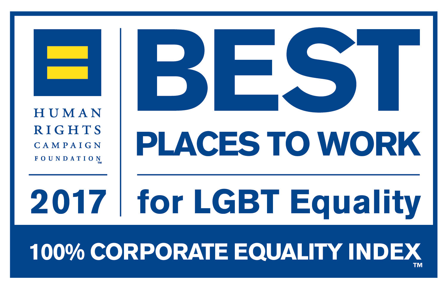 2017 Best Place to Work for LGBT